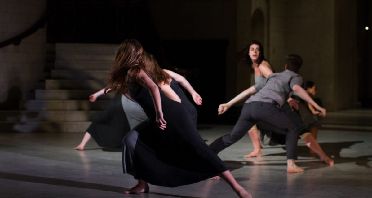 MamLuft&Co. Dance in The Tragedy of Time with Cincinnati Art Museum (2014), see MLCo.org